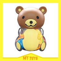 Wholesale Baby rattles baby teether baby bear rattle set abs real material safty standard rattles