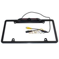 american car park - New Product Waterproof IR Night Version American License plate frame car parking camera car rear view camera