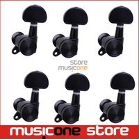 Wholesale 6L Black Locked String Chinese Guitar Tuning Pegs Tuners Machine Heads for Folk Acoustic Electric Guitar