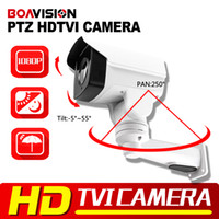 Wholesale New Model p Full HD TVI Bullet PTZ Camera MP m IR night Vision IP66 Outdoor CCTV Mini PTZ Camera Security