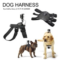 Wholesale 2016 brand new Dog Pet Harness Chest Back Mount Strap Accessories For GoPro Camera chest belt Straps