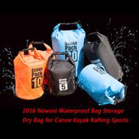Wholesale Ultralight Waterproof Bag Storage Dry Bag for Canoe Kayak Rafting Sports Outdoor Boating Camping Travel Kit Drifting Waterproof storage Bag