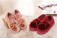 Wholesale new winter package with women cotton slippers the wife family home indoor and outdoor thermal antiskid cotton slippers