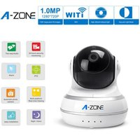Wholesale A ZONE Network IP Camera Wifi Camera Day Night Pan Tilt Baby Monitor HD P MP Surveillance IP Camera with Video Night Version Authentic