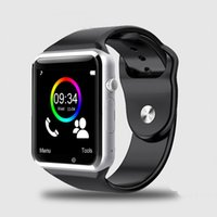 best connectivity - A1 Best Smart Watch Android Clock Sync Notifier Support SIM TF Card Bluetooth Connectivity For iPhone Android Phone PK DZ09 GT08 GV18