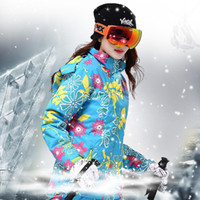 Wholesale new high quality fashion women s outdoor ski suit thick warm ski mountaineering ice climbing snowboard