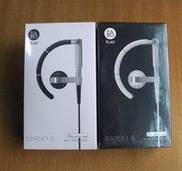 b ear phone - B O PLAY Earset i In Ear Headphones Headset In Line ear hook Mic Remote Black NEW SEALED