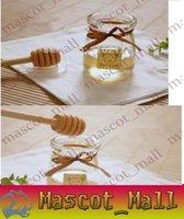 Wholesale DY364 cm MINI Wooden Honey Dippers Wedding Favors