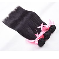 beautiful hair products - 7A Unprocessed Brazilian Hair weave Straight Rosa Hair Products Natural Black Can Be Dyed Human Hair Extensions Beautiful Star Soft