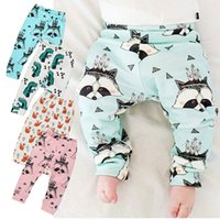 add clothing - Prettybaby kids patterns animal printed leggings pants cartoon add fleece baby children pants casual clothes PP pants Pt0492