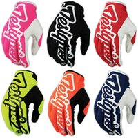 Wholesale Men Brand Downhill Gloves Motorcycle MTB BMX Motocross Motocicleta Guantes Cycling Gloves Mountain Bike Full Finger DH Gloves glo