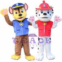 Wholesale New patrol Arrival Adult Minions Dog Mascot Costume Fancy Dress Suit Cartoon Mascot