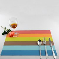 Wholesale Upscale placemat table mats Western pad Placemats Kitchen Table Mats Dinning Waterproof Table Cloth new sale hot WM