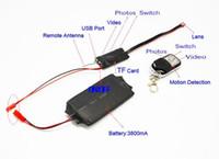 big recorders - 1080P Mini DV DVR DIY Module Spy Camera HD Spy Hidden Cam Camcorder Video Audio Recorder Motion With Remote Control big Battery