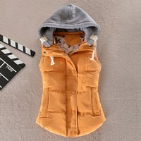 Wholesale Plus Size Colors Fashion Autumn Winter Coat Women Ladies Gilet Colete Feminino Casual Waistcoat Female Sleeveless Jacket AE269