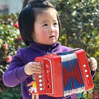 Wholesale Baby Toys Child Organ ABS Plastic Accordion Toy Baby Musical Instrument Toy Child Accordion Music Toy Birthday Gift For Kids