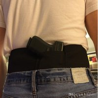 belly band holster - Glock Sig Elastic Waist Concealed Carry Holster Belly Band Pistol Gun Holster Magzine Pouches Elastic close fitting hidden Holster