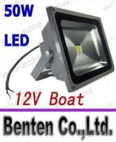 Wholesale High quality bright light W LED Flood lights V V bowfishing LEDs Boat lighting Watt lights LM Floodlights DHL shipping free LLF