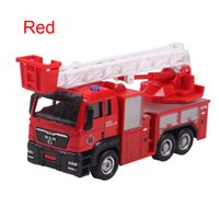 Cheap Alloy+ABS Friction Car Engineering Van Engineering Truck SAM Fire Truck Garbage Truck Dump Truck Mixers Car etc