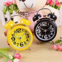 alarm clock bell sound - European sound alarm bell super cute personality mute clock luminous Machinery