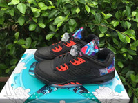 kite fabric - new air retro kite china black chinese new year s men womens basketball shoes sneakers sports shoes size