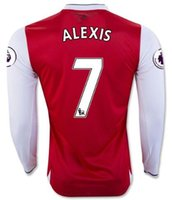 arsenal long sleeve away shirt - TOP new Arsenal Away home RD Jerseys WILSHERE OZIL WALCOTT RAMSEY ALEXIS long sleeve shirt customized name number
