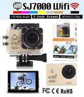 1080p waterproof hd digital video camera - Gopro Hero M Waterproof Sports Camera SJ7000 WiFi P HD inch Wide Angle Action Helmet Mini DV Digital Video Camcorders Car DVR