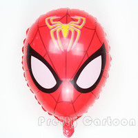 Wholesale 5pcs cm spiderman balloons wedding birthday spider man party decoration children s toys inflatable helium ballon globos