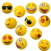 beach toys for adults - Inflatable Emoji Ball Inflatable Beach Ball Inflatable Play Water Polo For Kids and Adult Outdoor Play