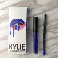 Wholesale Kylie Jenner Lip Kit Gloss Lipstick Lipliner Matte Lipstick Waterproof Makeup Beauty