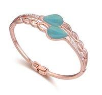 Cheap fashion women wedding bracelets Best 18k gold plated alloy bangles
