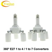 Wholesale Lamp Holder Converters Degrees Flexible Extended E27 to and E27 to Lamp Base