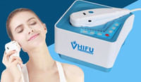 beauty focus - 2016 Portable HIFU High intensity focus ultrasound Machine for wrinkle removal anti aging facial beauty equipment RF home use