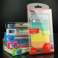 Wholesale Universal Mobile Phone Case Package PVC Plastic Retail Packaging Box with Inner Insert for iPhone Samsung HTC Cell Phone Case Fit inch