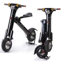 adult folding bicycle - Folding eletric bicycle hottest e scooter for adult and youngster with CE and FCC