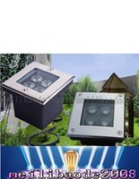 Wholesale 85 V AC W LED Outdoor Garden Underground Square Buried Light Flood Lamp Waterproof by Fedex LLFA