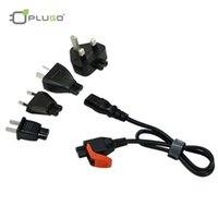 acer travel laptop - PLUGO KIT022BK Easy Pull Universal Travel Laptop Power Adapter Cable for Lenovo ASUS Acer With EU AU US UK Plug