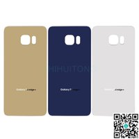 Wholesale Original Glass Back Covers for Samsung Galaxy S6 Edge Plus Best Battery Back Housing Cover Replacement Parts for Samsung S6EDGEPLUSG928PBBHC