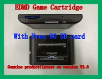 Wholesale Free G SDCard SEGA GENESIS MegaDrive MD EDMD Game Cartridge USA Japanese and European game card shell