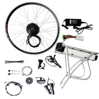 bicycle conversion - 36V AH AH Rear Rack Battery Electric Bicycle Conversion Kit For inch inch C inch Bike Refit
