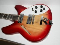 Wholesale Guitars Cherry Burst Strings Rick Electric Guitar Best Selling HOT