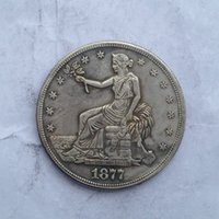 antique trade - USA Trade dollar Coin Crafts pieces bale Promotion Cheap Factory Price nice home Accessories Silver Coins