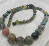 Wholesale Natural mm Faceted Indian Multicolor Agate Onyx Gemstone Loose Beads AAA