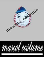 athletic met - High quality EVA Head head of Mr Met mascot costume Mr Met costume for adult