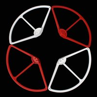 Wholesale 4Pcs Propeller Prop Protective Guard Bumper Protector for DJI Phantom Vision Quadcopter Red White AFD_D30