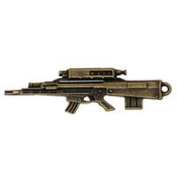 antique sniper rifles - Charm Pendants Sniper Rifle Gun Antique Bronze mm quot x mm quot new