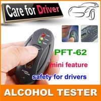 Wholesale Digital LCD Alcohol Tester Analyzer Breath Breathalyzer H17 dropshipping