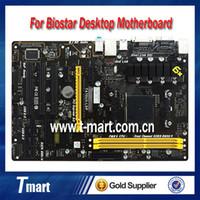 Biostar amd biostar - 100 working desktop motherboard for BIOSTAR TA70U3 LSP AMD DDR3 system mainboard with cheap shipping Z