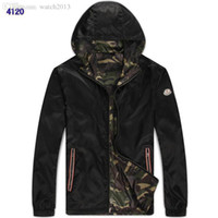 Wholesale Fall new Mon arrival autumn and winter high quality men long sleeve casual wind jacket m xxl