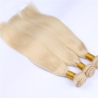 Grade 7A Cheveux Blonds Cheveux Blonds 613 Cheveux Humains 3 Bundles for Fashion Lady